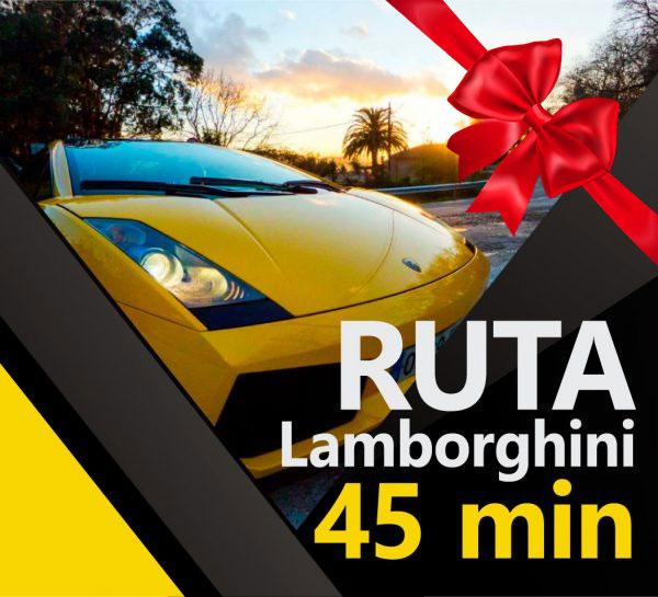 Alquiler Lamborghini 45minutos